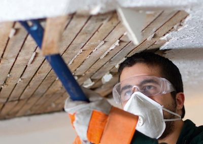 lath and plaster ceiling