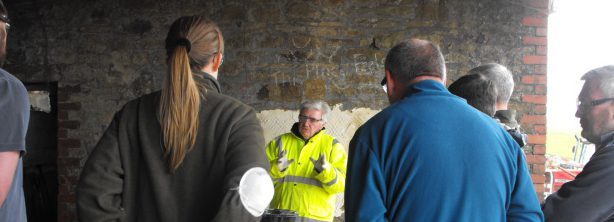 Lime pointing and plastering 1.1.16