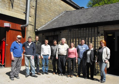 THI Bacup - Lime Pointing Day